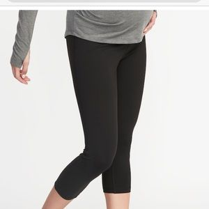 Old Navy maternity active crop